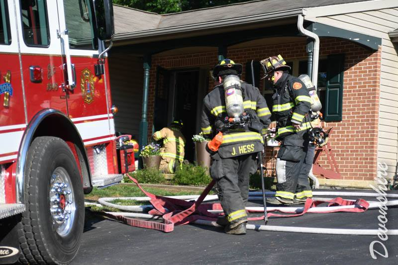 House Fire in Bart Township
