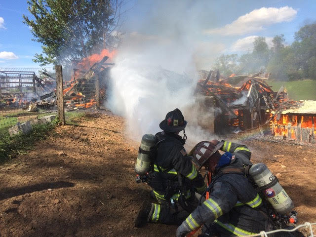 Working Barn Fire in East Drumore Township