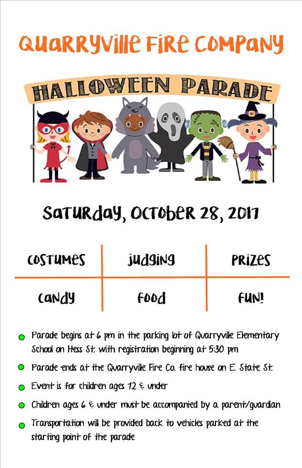 QFD Bringing Back The Halloween Parade
