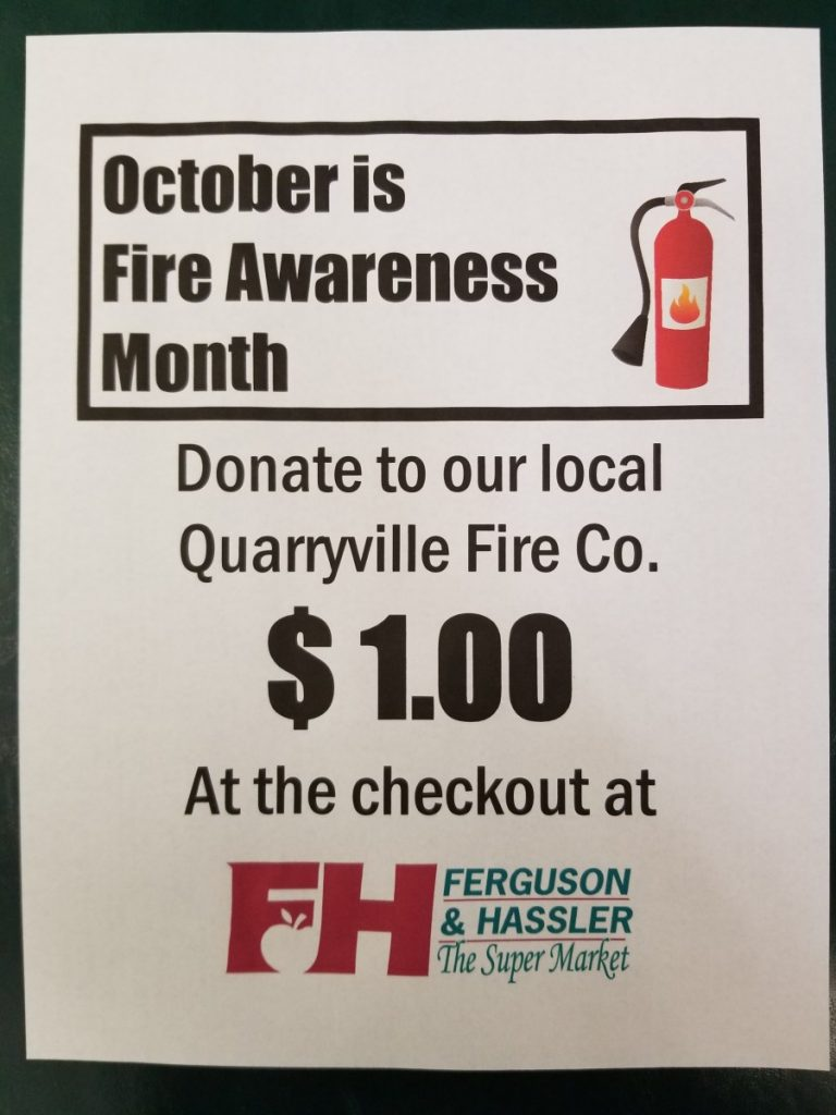 Fergie's Fundraises for Fire Prevention!
