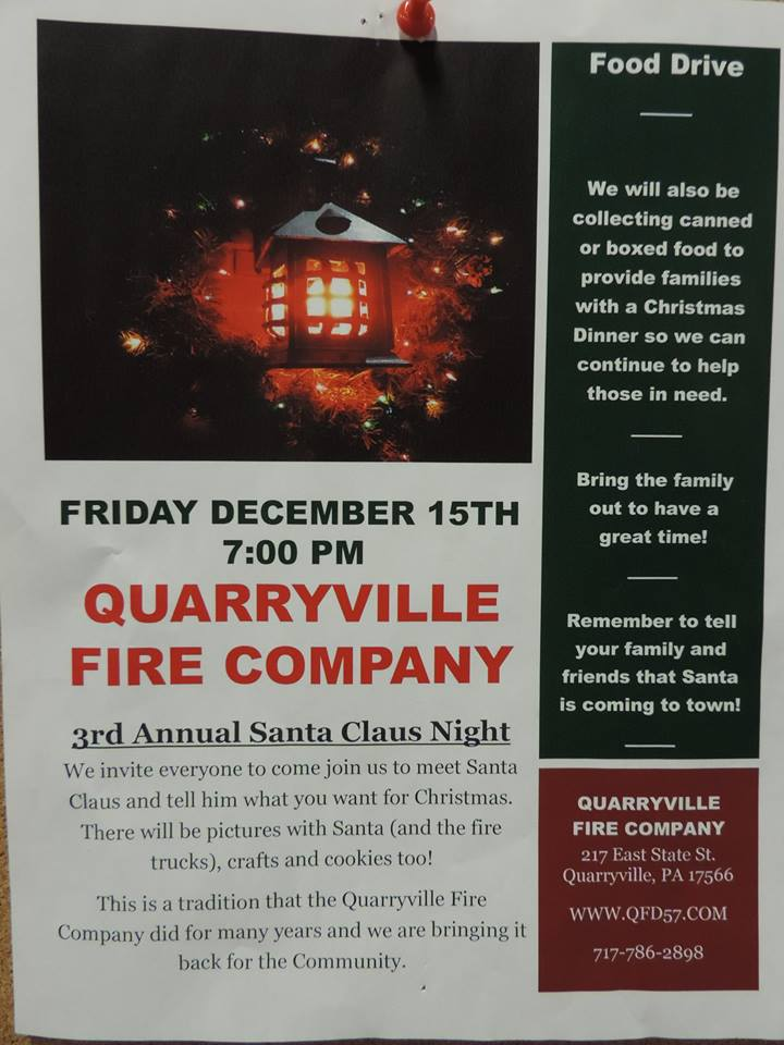 3rd Annual Santa Night