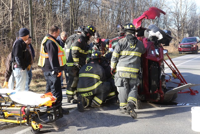 Vehicle Accident in Providence Twp.