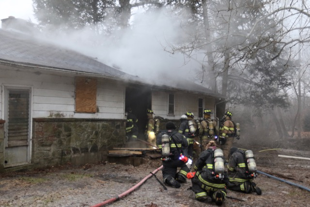 House Fire in Fulton Township