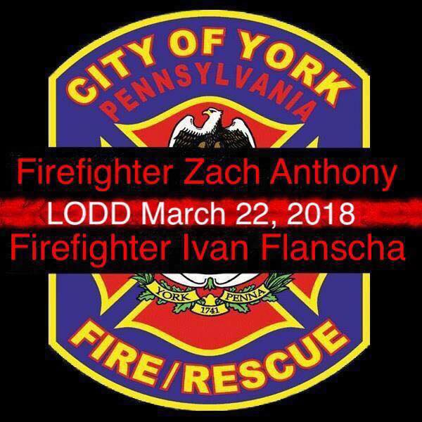 Thoughts and Prayers to York City Fire and Rescue