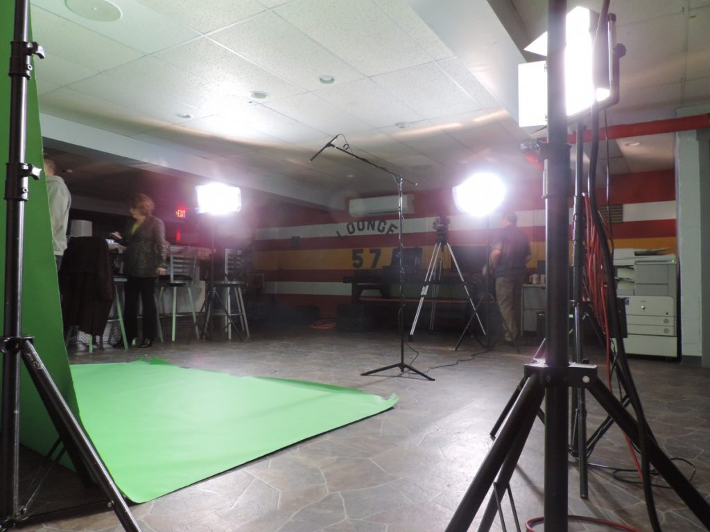 Station 57 Set Up As A Film Studio For A Great Cause
