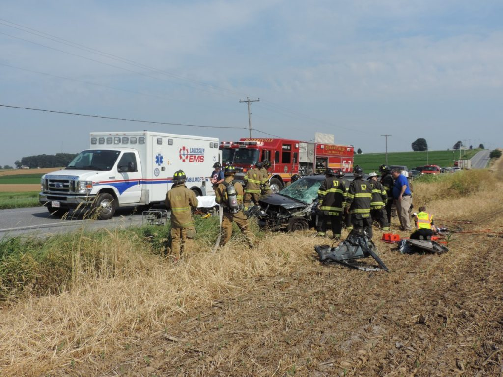 Vehicle Accident With Entrapment in Drumore Township