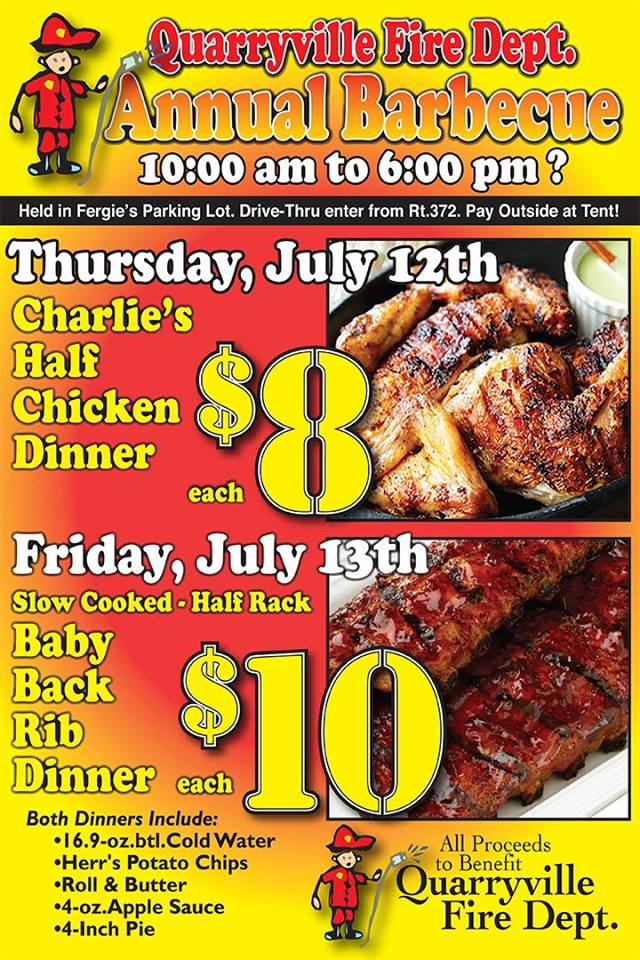 Chicken and Rib BBQ Week Is Here