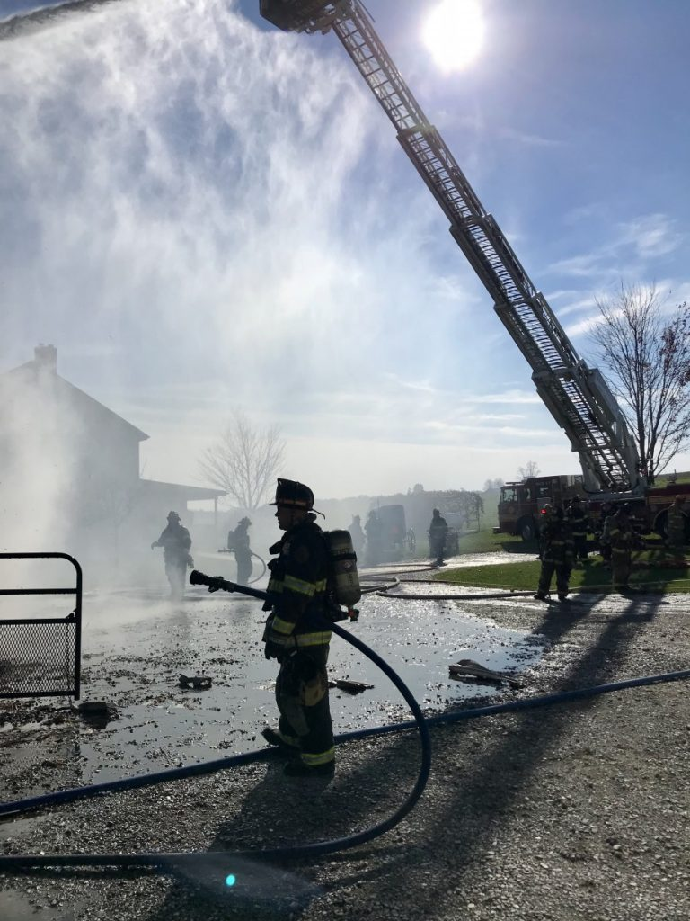 Barn Fire in East Drumore Township
