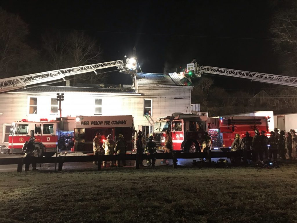 Christmas Night Fire in Pequea Township